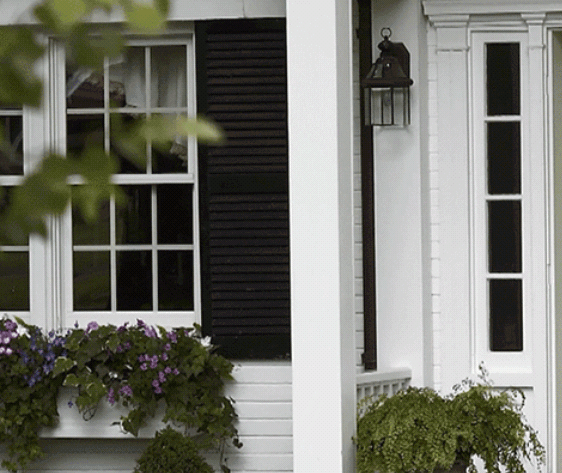 Exterior Accent Colors - Window Sills