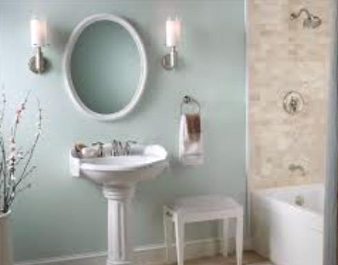 Modern Bathroom Paint Colors white