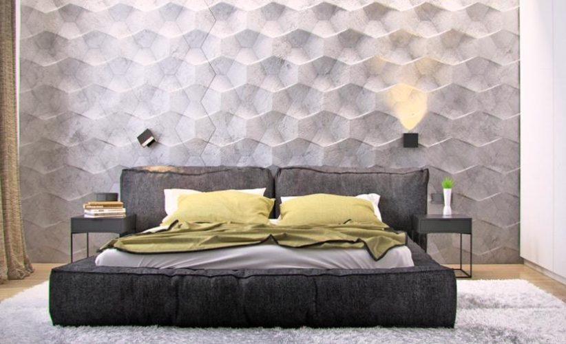 Use Textured Paint in the Bedroom