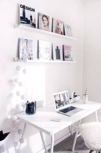 White-on-White Home Décor